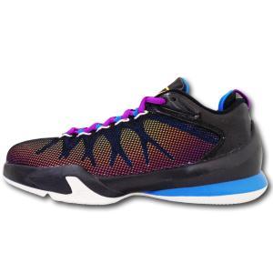 04c8267d6da8 KS099 キッズ ジュニア Jordan CP3.VIII AE ジョーダン クリス・ポール バスケットボールシューズ 黒青インフラレッド