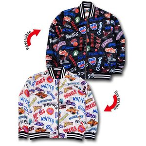 NJ293 Mitchell&Ness NBA Team Logos Reversible Jack...