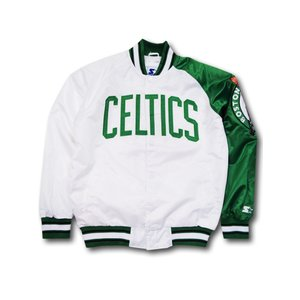 NJ298 Starter NBA Boston Celtics Bomber Jacket ボスト...