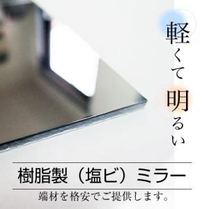 姿見 樹脂ミラー(塩ビ製 ミラー)30cm×22cm HH-3121 日本製|hop4132