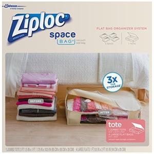 Ziploc 70311 Organizer & Tote Space Bag - 5 Pi...