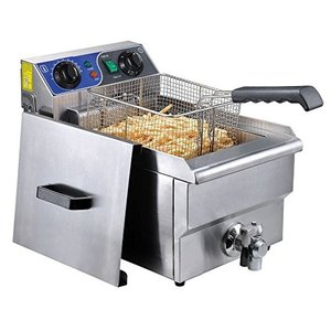 Commercial Professional Electric 10L Deep Fryer Ti...