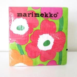 マリメッコ 33cm×33cm  紙ナプキン ウニコ Mai...
