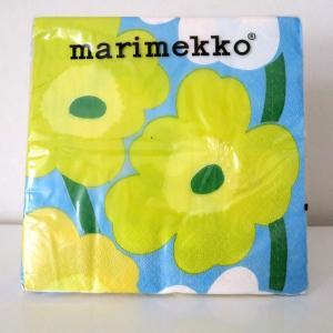 マリメッコ 紙ナプキン 33cm×33cm  ウニコ Maija ja Isola Marimekko ばら売り...