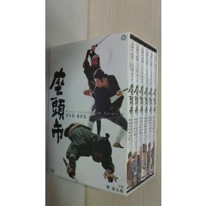 勝新太郎の 座頭市 DVD-BOX  大映1962年第1作〜18作1968年まで 2009年角川エンタテインメント
