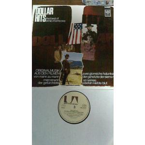 エンニオ・モリコーネ マカロニ・ウエスタン サウンドトラック集 30cmLPレコード 1969年 ド...