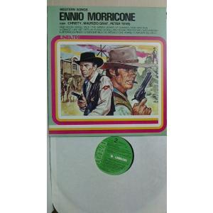 エンニオ・モリコーネ マカロニ・ウエスタン 主題歌集 1980年イタリア・RCA盤 30cmLPレコ...