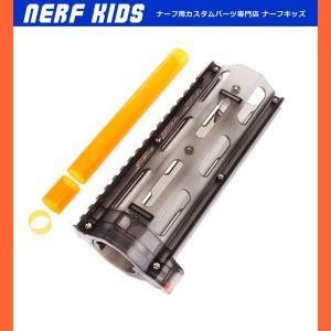 金型インジェクション成形品。 ●付属品 ・15.5cmメインバレル ・2.5cmサブバレル(銃本体側...