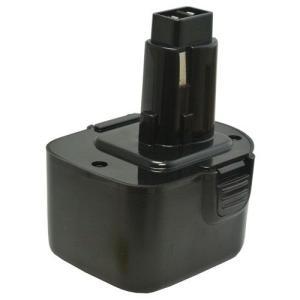ブラック&デッカー(Black&Decker) 電動工具用 ニカド 互換バッテリー 12.0V 1.3Ah A9252 A9275 PS130対応|hori888