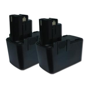 2個セット ボッシュ(BOSCH) 電動工具用 ニカド 互換バッテリー 9.6V 2.0Ah 2 607 335 152 対応|hori888