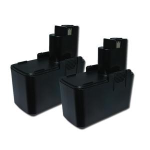 2個セット ボッシュ(BOSCH) 電動工具用 ニッケル水素 互換バッテリー 9.6V 2.1Ah (2607335254) (2607335230) (2607335152) 対応|hori888