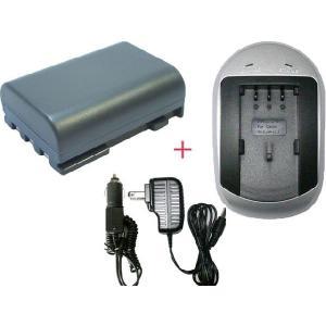 充電器セット キャノン(Canon) NB-2L / NB-2LH 互換バッテリー + 充電器 (AC)|hori888