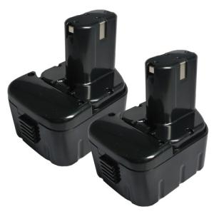 2個セット 日立工機(Hitachi Koki) 電動工具用 互換 ニカド バッテリー 12.0V 2.0Ah EB1214L EB1214S EB1220BL EB1212S対応|hori888