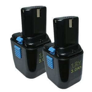 2個セット 日立工機(Hitachi Koki) 電動工具用 互換 ニッケル水素 バッテリー 12.0V 3.0Ah FEB12S対応|hori888