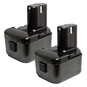 2個セット 日立工機(Hitachi Koki) 電動工具用 互換 ニッケル水素 バッテリー 12.0V 3.0Ah EB1214L EB1214S EB1220BL EB1212S対応|hori888