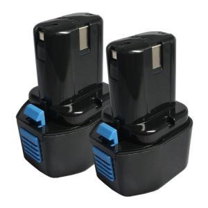 2個セット 日立工機(Hitachi Koki) 電動工具用 互換 ニカド バッテリー 7.2V 2.0Ah EB7 EB7S EB714S EB712S対応|hori888