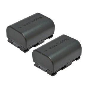 2個セット ビクター(JVC) BN-VG114 互換バッテリー