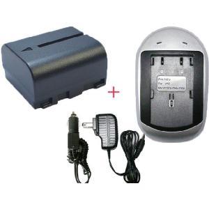 充電器セット ビクター(JVC) BN-VF707 互換バッテリー + 充電器 (AC)|hori888