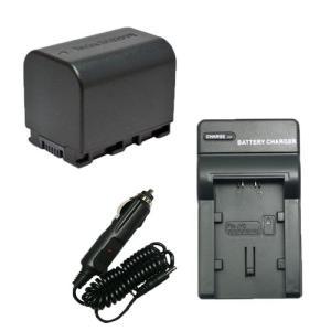 充電器セット ビクター(JVC) BN-VG121 互換バッテリー + 充電器(コンパクト)|hori888
