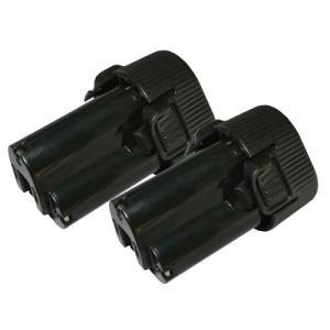2個セット マキタ(makita) 電動工具用 互換 リチウムイオンバッテリー 10.8V 2.0Ah (BL1013)(194550-6)(194551-4)対応 hori888