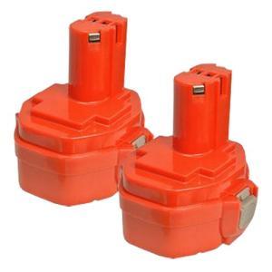 2個セット マキタ(makita) 電動工具用 互換 ニカド バッテリー 14.4V 1.3Ah 1422 対応|hori888