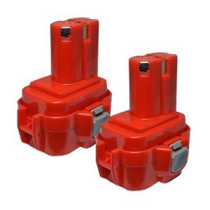 2個セット マキタ(makita) 電動工具用 互換 ニカドバッテリー 9.6V 1.3Ah 9120 9122 9100 9100A 9101A 9102 対応|hori888