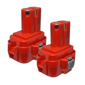 2個セット マキタ(makita) 電動工具用 互換 ニカド バッテリー 9.6V 2.0Ah 9120 9122 9100 9100A 9101A 9102対応|hori888