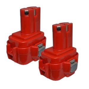 2個セット マキタ(makita) 電動工具用 互換 ニッケル水素 バッテリー 9.6V 3.0Ah 9120 9122 9100 9100A 9101A 9102対応|hori888