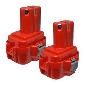 2個セット マキタ(makita) 電動工具用 互換 ニカドバッテリー 9.6V 1.5Ah 9120 9122 9100 9100A 9101A 9102対応|hori888
