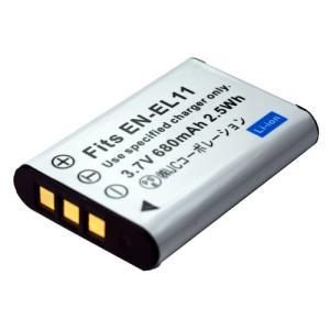 ニコン(Nikon) EN-EL11 互換バッテリー|hori888