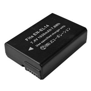 ニコン (Nikon) EN-EL14 互換バッテリー 残量表示可 純正充電器対応 P7800対応|hori888