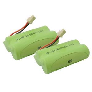 2個セット NTT コードレス子機用充電池 CT-デンチパック-074 / 080 対応互換電池 J010C|hori888