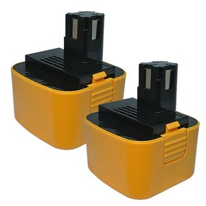 2個セット パナソニック(Panasonic) 電動工具用 ニッケル水素 互換バッテリー 12.0V 2.5Ah EZ9200 EZ9200B EZ9106B対応 hori888