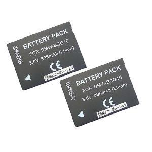 2個セット パナソニック(Panasonic) DMW-BCG10 互換バッテリー|hori888