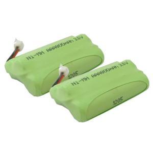 2個セット パナソニック ( Panasonic ) コードレス子機用充電池 KX-FAN50 / HHR-T404 対応互換電池 J002C|hori888