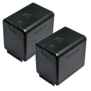 2個セット パナソニック (Panasonic) VW-VBT380-K 互換バッテリー|hori888