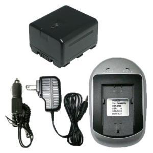 充電器セット パナソニック(Panasonic) VW-VBN130 互換バッテリー+ACアダプタ充電器|hori888