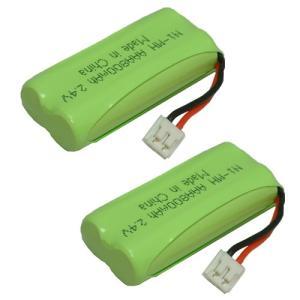 2個セット パイオニア(Pioneer) コードレス子機用充電池 (TF-BT20 対応互換電池)J021C|hori888