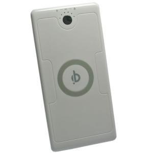 バッテリー内蔵型 Qi規格準拠 置くだけ充電対応 ワイヤレス充電器|hori888