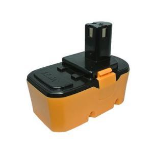 リョービ(RYOBI) 電動工具用 互換 ニッケル水素 バッテリー 18.0V 2.1AH BPP-1813 BPP-1815 BPP-1820対応|hori888