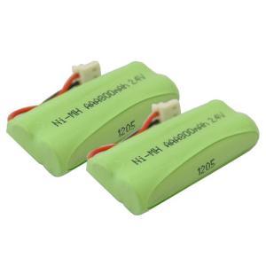 2個セット シャープ ( SHARP ) コードレス子機用充電池 UBATM0030AFZZ / M-003 対応互換電池 J007C|hori888