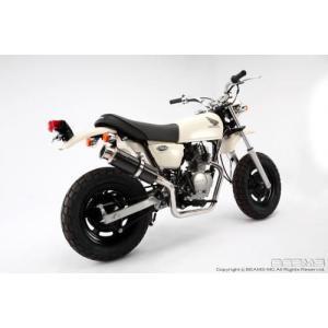 送料無料 BEAMS ビームス マフラー APE50Fi/エイプ50Fi SS300カーボン B129-08-003|horidashi