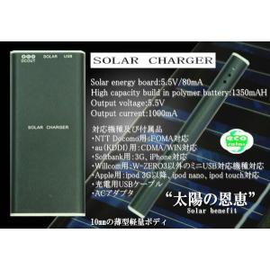 高性能ソーラーチャージャー ブラック|horidashi