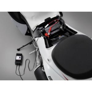 セール特価 DAYTONA デイトナ バイク用 維持充電器 + ワニグチクリップ 68586 バイクバッテリー 充電器 horidashi 02