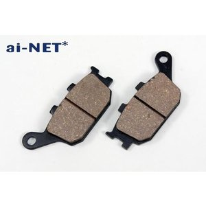 送料無料 ブレーキパッド ainet(アイネット) バイク用 品番18212 ブレーキパット|horidashi