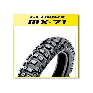 DUNLOP(ダンロップ) MX71 (110/90-18) 61M WT リア (289555) バイク タイヤ