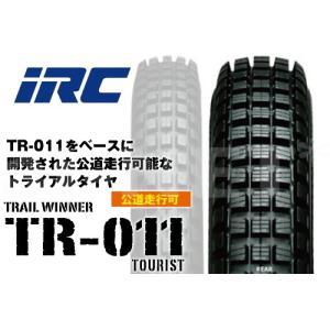 セール特価 4.00-18 64P IRC 井上ゴム TR011 ツーリスト TL リア 102382 バイク タイヤ リアタイヤ