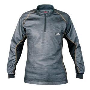 ラフ&ロード ウインドガードストレッチアンダーシャツ RR6885 ブラック Lサイズ ROUGH&ROAD ラフアンドロード horidashi