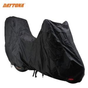 セール特価 レビューで特典 DAYTONA(デイトナ) バイクカバー ボディーカバー (スクーター LLサイズ トップケース装着車用 )(77526)BLACK COVER スタンダード2|horidashi