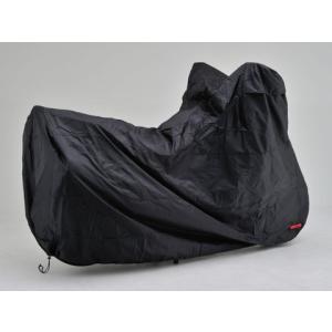 DAYTONA デイトナ バイクカバー ボディーカバー Lサイズ 98202 BLACK COVER Simple バイクカバーシンプル ブラック 盗難防止|horidashi|02